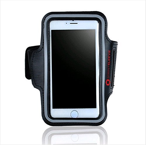 sprintsleeve Sport Armband| Best Telefon Running Reflex Gear| Geeignet für iPhone 6/6S, iPods | für Alle Outdoor Sports | Damen, Herren & Kinder | Schilde vor Regen | Wasserdicht - Nano Armband Ipod Wasserdichte