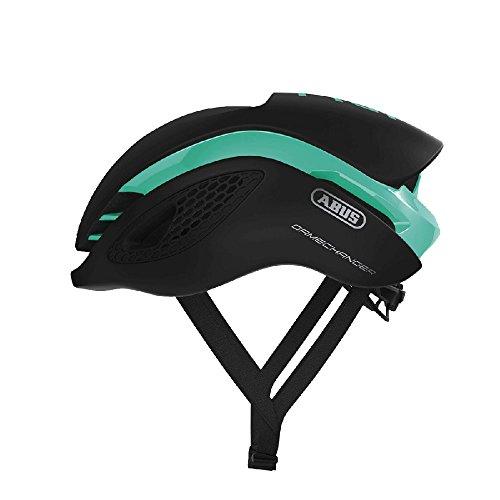 Abus Gamechanger Aero-Helm Fahrradhelm, Celeste Green, M