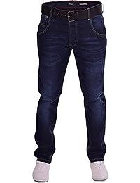 Firetrap Hommes Résistant Durable Quality Slim Fit Conique Jeans Extensible 3 Couleurs