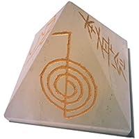 Bergkristall Pyramide mit eingravierten Reiki Symbolen 35-50mm preisvergleich bei billige-tabletten.eu