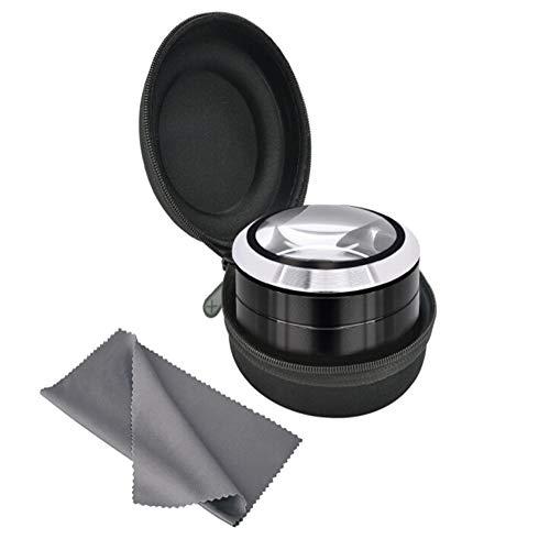 t Desktop-LED-Lupe, Pocket Portable - K9 Objektiv Look Book Zeitung Und Magazin Mini-Modell 2X 4X 25x leichte Handlupe ()
