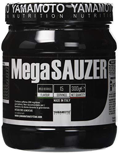 Yamamoto Nutrition Mega Sauzer, 300 grammi, Frutti di Bosco