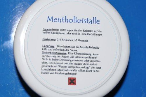 Reine Mentholkristalle - 50 Gramm