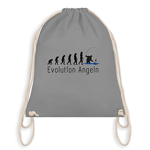 Evolution - Fishing Evolution - Borsa Da Palestra I Gym Bag Grigio Chiaro