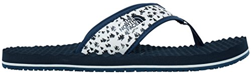 The North Face M Base Camp, Tongs Homme Vintage White/Urban Navy