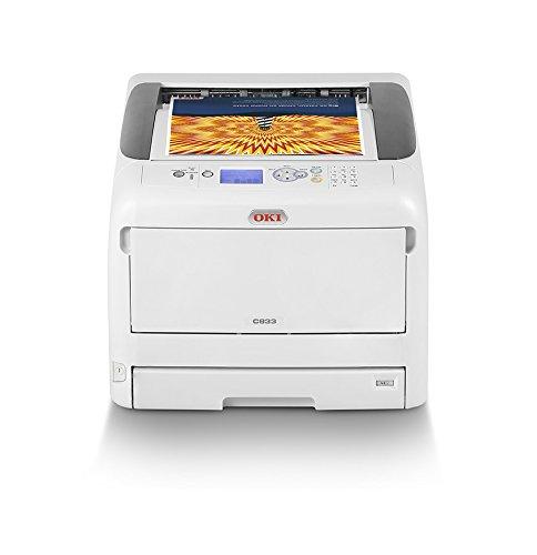 OKI C833n Color 600 x 1200DPI A3 - Impresora láser