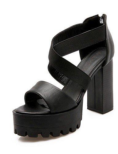 LFNLYX Scarpe Donna-Sandali / Ballerine / Sneakers alla moda / Ciabatte / Solette interne e accessori-Matrimonio / Ufficio e lavoro / Formale / Black