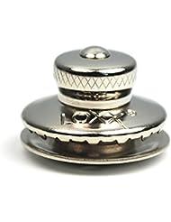 Loxx bouton femelle standard en laiton nickelé