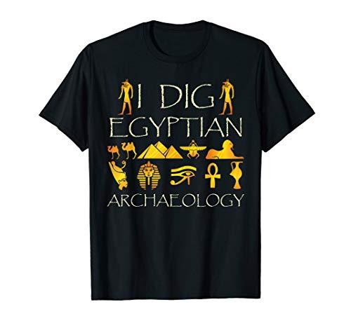 en Archäologie-Ägypten-Liebhaber T-Shirt ()