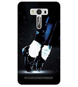 Chiraiyaa Designer Printed Premium Back Cover Case for Asus Zenfone Selfie (michael jackson dance sing perform) (Multicolor)