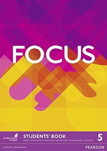 Focus BrE 5 Student's Book por Vaughan Jones