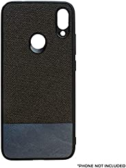 Brain Freezer TPU Soft Fabric Hybrid Protective Bumper Back Cover with TPU Frame and PC Back Compatible with X