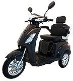 Elektromobil VITA CARE 1000 Seniorenmobil E-Roller E-Scooter mit Straßenzulassung Elektro Roller, Schwarz