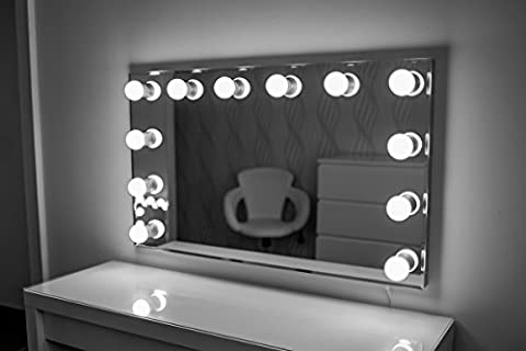 Hollywood Spiegel Theaterspiegel Spiegel mit glühbirnen schminkspiegel mit