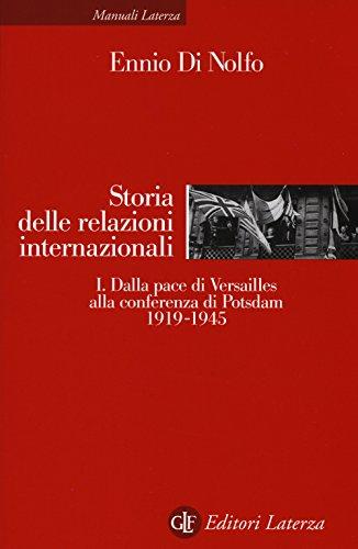 Storia delle relazioni internazionali: 1