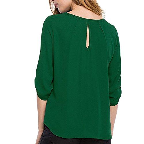 Moresave - Camicia -  donna Verde