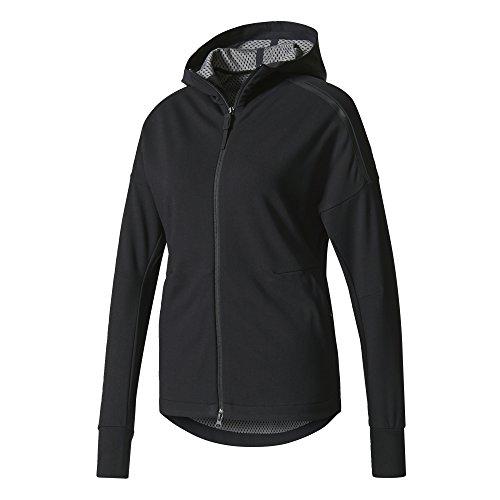 adidas Damen Z.N.E. Duo Hoodie Jacke, Black/Grefou, M
