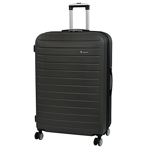 it luggage Legion 8 Wheel Large Spinner Expandable Hard Case Koffer, 80 cm, 161 liters, Grau (Grey)