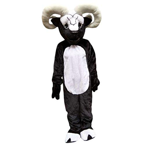 ge Schaf Cartoon Maskottchen Kostüm Echt Bild 15–20Tage Marke (Ziege Kostüm Hose)