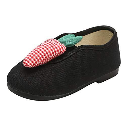 Sanahy Kleinkind Kind Kinder Baby Jungen Mädchen Mode Karotte Kürbis Design Schuhe Müßiggänger Schuhe Halbschuhe Weiche Sohlen
