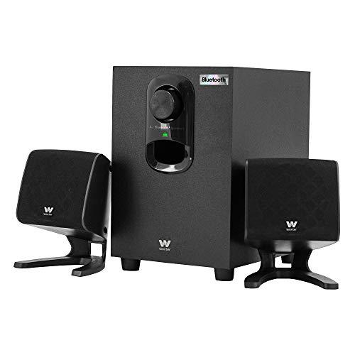 Woxter Big Bass 110r - Altavoces Bluetooth 2.1 con subwoofer, 20W de...