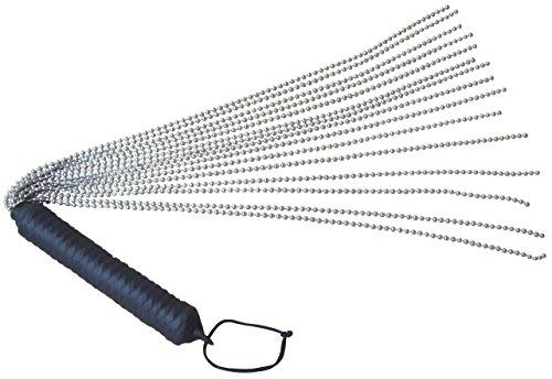 Metall-peitsche (Metall Kettenpeitsche ❘ 15 Tails mit 3,2mm großen Kugeln ❘ hartes Spanking Toy)