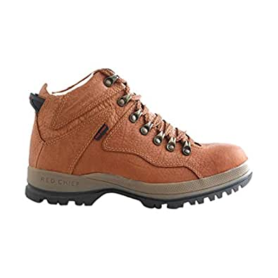 Red Chief Men's Tan Leather Boots (RC2506-ELEPHANT TAN-41) - 7 UK