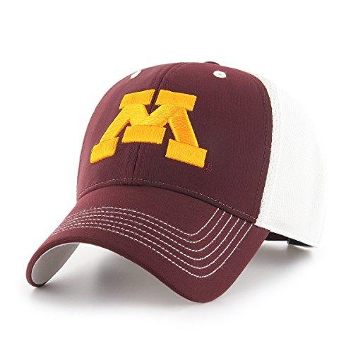 OTS NCAA Sling Star MVP verstellbar Hat, Unisex, NCAA Sling OTS All-Star MVP Adjustable Hat, Dark Maroon -