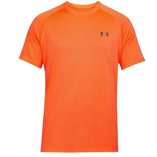 Under Armour Herren UA Tech Short Sleeve Tee Kurzarmhemd, Magma Orange, M