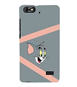 printtech Tom & Jerry Back Case Cover for Huawei Honor 4C::Huawei G Play Mini