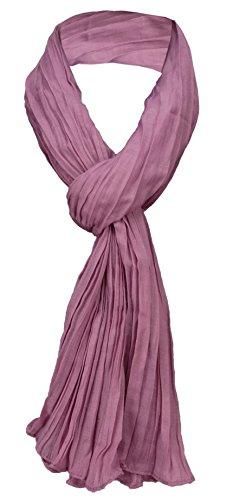 TigerTie - Bufanda estrelló lila rojo-violetaa monocromo