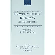 Boswell's Life of Johnson: Volumes 1-4