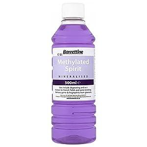 41XAiTgO7sL. SS300  - Barrettine MMSP005 5 L Mineralised Methylated Spirit, Violet