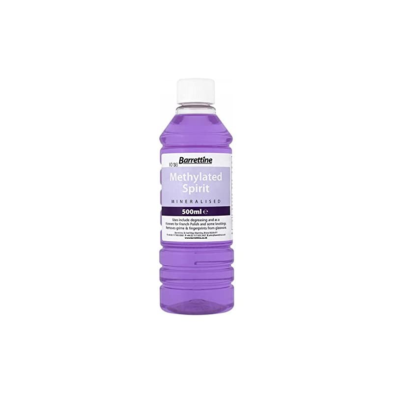 Barrettine MMSP005 5 L Mineralised Methylated Spirit, Violet