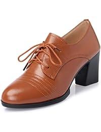 6f86c019373 Zapatos De Tacón Alto De Las Mujeres De Encaje Informal Botines Complejo  Botas Casuales Zapatos De