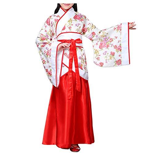 Meijunter Chinesischer Stil Retro Hanfu - Traditionell Uralt Prinzessin Performance Kostüm Tanz Kleid Cosplay (Tanz Performance Kostüm Kinder)