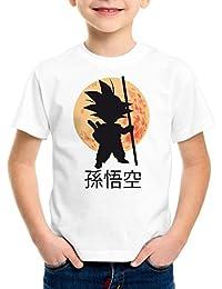 style3 Goku Moonlight T-Shirt pour enfants