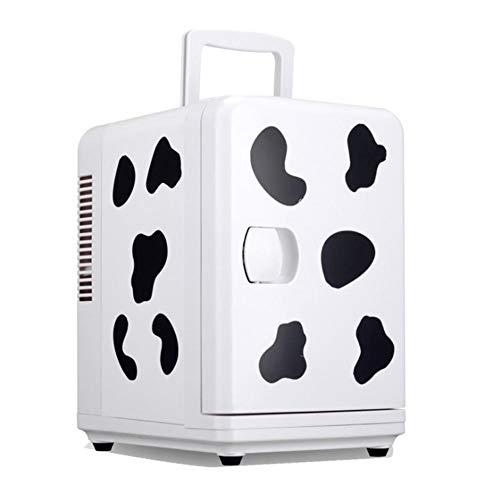 dewdropy Kühlbox Auto Mini Kühlschrank Kühler Und Wärmer 6 Liter Für Zuhause, Büro, Auto, Wohnheim, Boot -