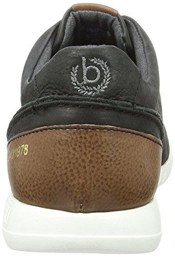 Bugatti K19015, Sneakers Basses Homme Noir (Schwarz 100)