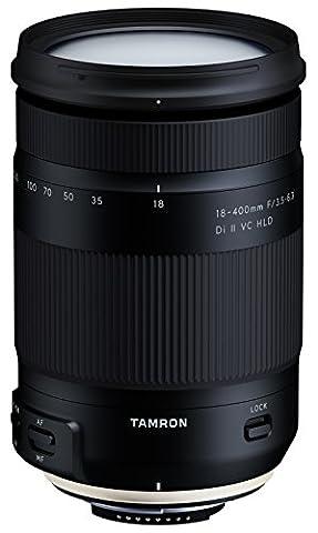 Tamron B028 N Objectif 18-400 mm F/3.5-6.3 Di II VC HLD pour Nikon APSC Noir