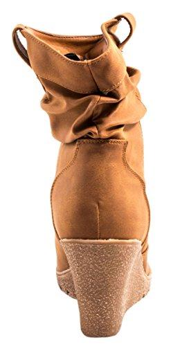 Elara - Stivali Donna Cammello