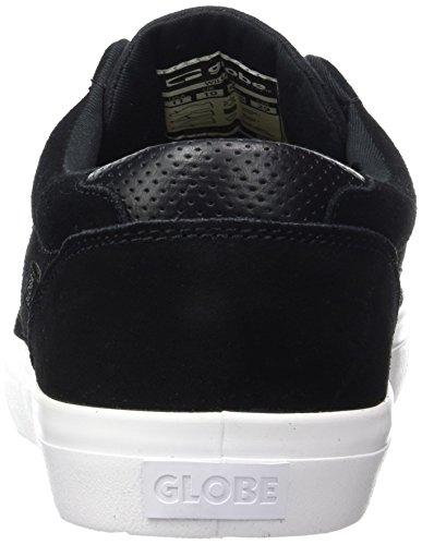 Globe Willow, Scarpe da Skateboard Uomo Black (Black/White 10046)