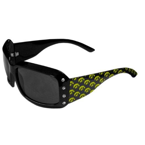 Siskiyou NCAA Damen Strass Designer-Sonnenbrille, Damen, CSG52W, Mehrfarbig, Einheitsgröße