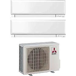 Climatizzatore 12000 + 12000 Dual Split Inverter con Pompa di Calore A+++/A++ Serie Kirigamine Zen