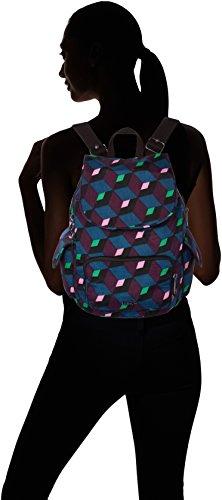 Kipling City Pack S, Borsa a Zainetto Donna, 27x33.5x19 cm (B x H x T) Multicolore (Bold Mirage)