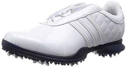 pretty nice 79d95 e7e85 Adidas Dri Boa - Chaussures De Golf Pour Femme Blanc  Bleu
