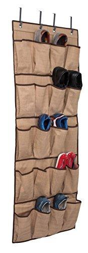 �Tasche über der Tür Schuh zum Aufhängen Closet Organizer (grau) braun ()