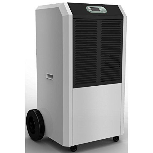 41XAo7utg9L. SS500  - Amcor 90 Litre per Day Commercial Dehumidifier on Large Wheels with Digital humidistat and Uplift Pump