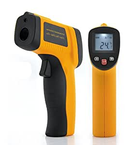 Shopinnov Thermomètre infrarouge sans contact