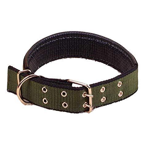 Paws Hund Anti Bark Halsband Nylon Komfortabel Für Kleine/Mittlere / Große Hunde, Grün,S -